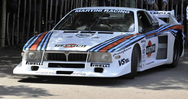 Car-Revs-Daily.com Rally Legends - 1983 Lancia Beta Montecarlo and 1982 Lancia 037 at Goodwood 2014 1