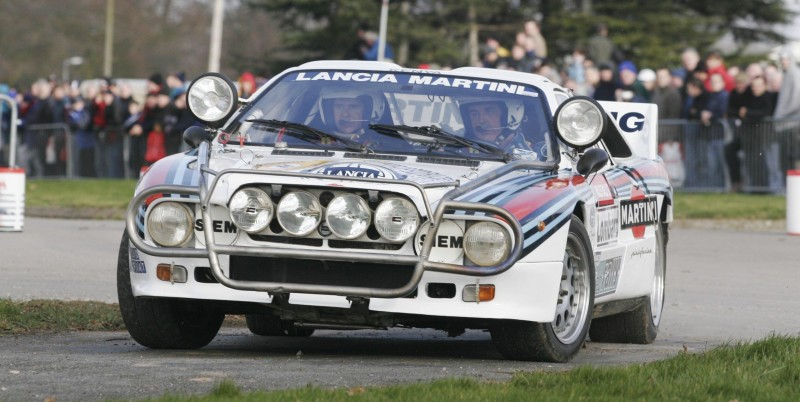 Car-Revs-Daily.com Rally Legends - 1983 Lancia Beta Montecarlo and 1982 Lancia 037 at Goodwood 2014 11
