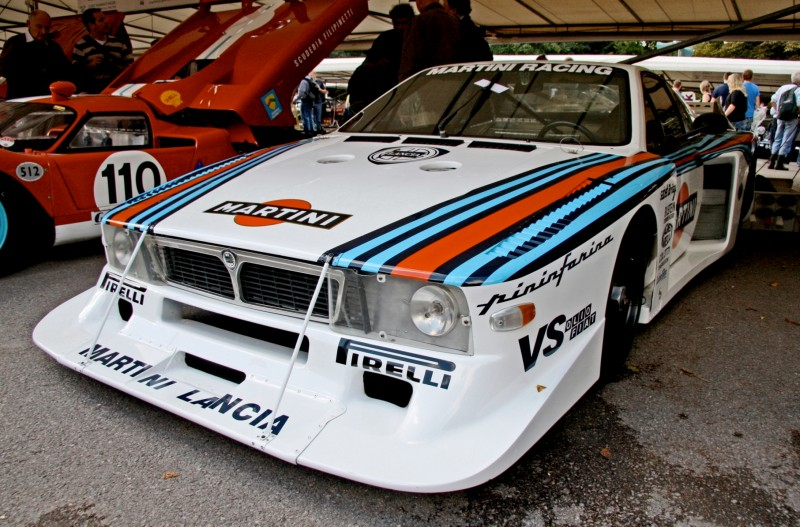 Car-Revs-Daily.com Rally Legends - 1983 Lancia Beta Montecarlo and 1982 Lancia 037 at Goodwood 2014 15