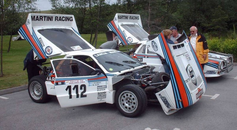 Car-Revs-Daily.com Rally Legends - 1983 Lancia Beta Montecarlo and 1982 Lancia 037 at Goodwood 2014 17