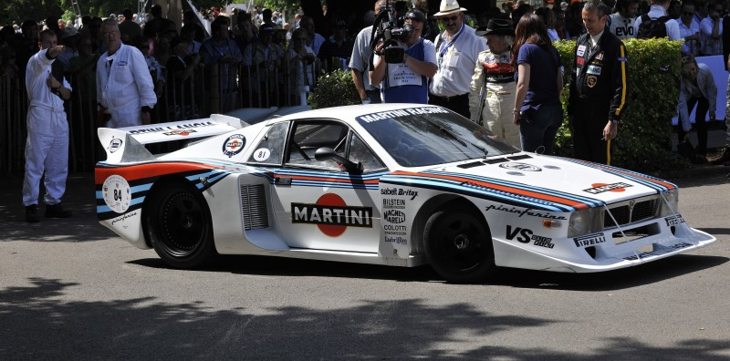 Car-Revs-Daily.com Rally Legends - 1983 Lancia Beta Montecarlo and 1982 Lancia 037 at Goodwood 2014 2