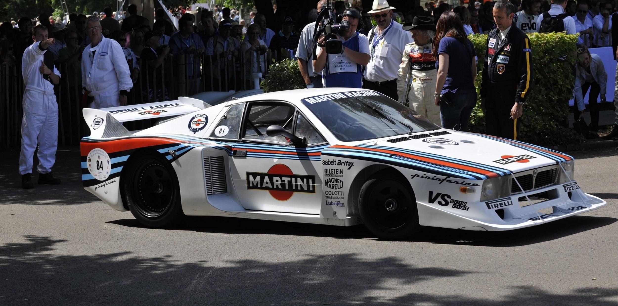 1983 Lancia Beta Montecarlo And 1982 Lancia 037 At