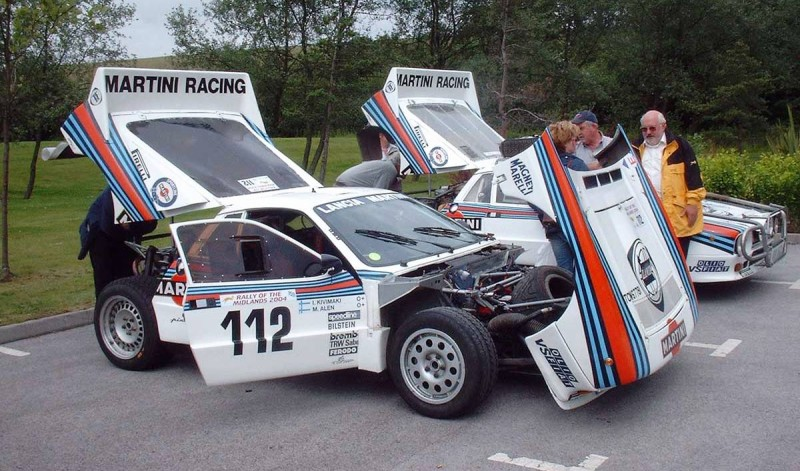 Car-Revs-Daily.com Rally Legends - 1983 Lancia Beta Montecarlo and 1982 Lancia 037 at Goodwood 2014 22