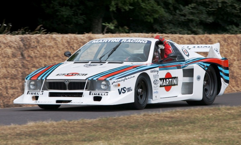 Car-Revs-Daily.com Rally Legends - 1983 Lancia Beta Montecarlo and 1982 Lancia 037 at Goodwood 2014 25