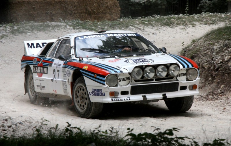 Car-Revs-Daily.com Rally Legends - 1983 Lancia Beta Montecarlo and 1982 Lancia 037 at Goodwood 2014 27