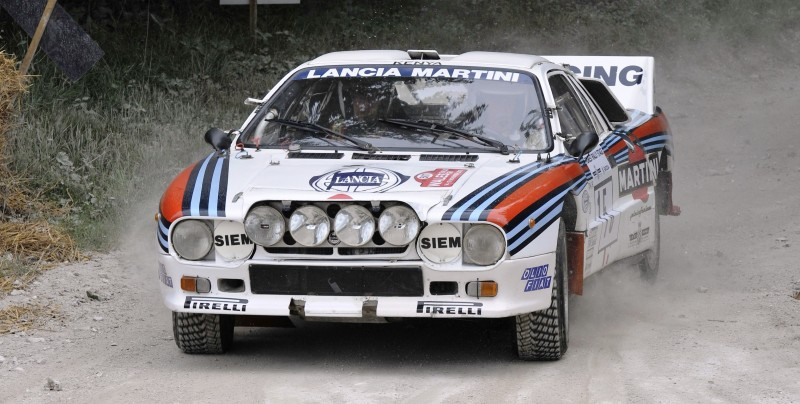 Car-Revs-Daily.com Rally Legends - 1983 Lancia Beta Montecarlo and 1982 Lancia 037 at Goodwood 2014 6