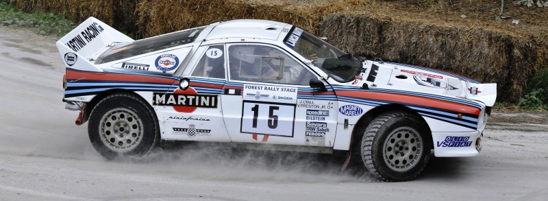 Car-Revs-Daily.com Rally Legends - 1983 Lancia Beta Montecarlo and 1982 Lancia 037 at Goodwood 2014 7