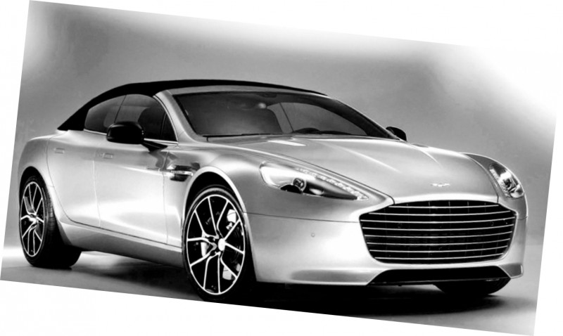 Car-Revs-Daily.com Renderings - Aston Martin RAPIDE VOLANTE from NCE 5