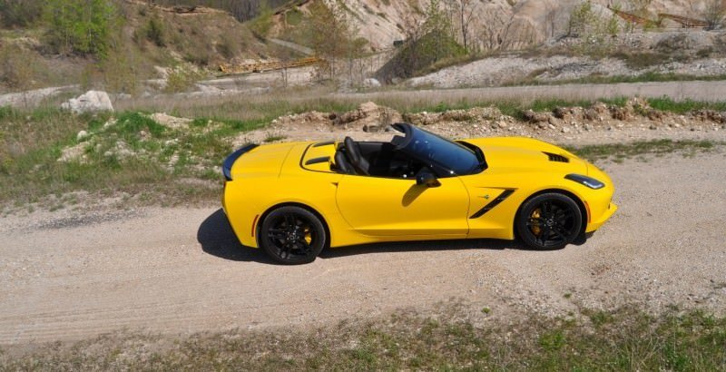 Car-Revs-Daily.com Road Test Review - 2014 Chevrolet Corvette Stingray Convertible 12