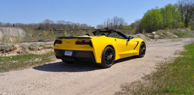 Car-Revs-Daily.com Road Test Review - 2014 Chevrolet Corvette Stingray Convertible 17
