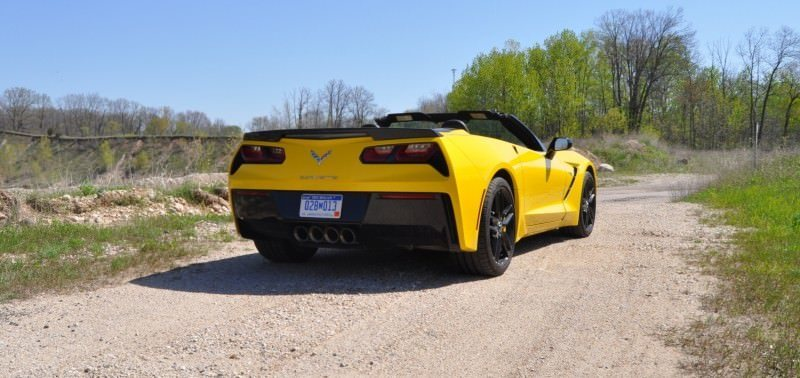 Car-Revs-Daily.com Road Test Review - 2014 Chevrolet Corvette Stingray Convertible 18