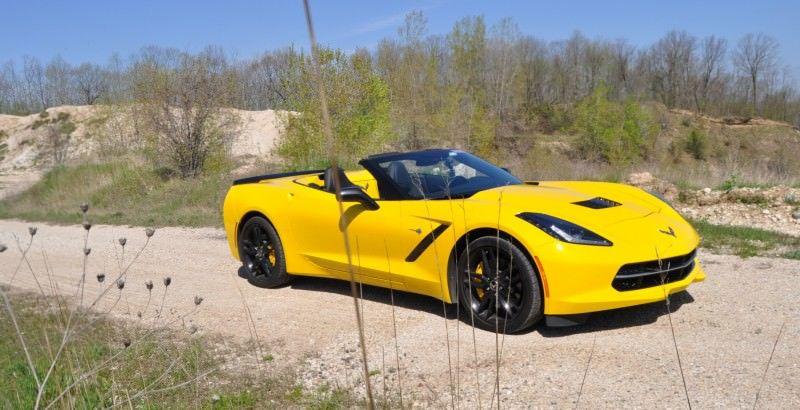 Car-Revs-Daily.com Road Test Review - 2014 Chevrolet Corvette Stingray Convertible 8