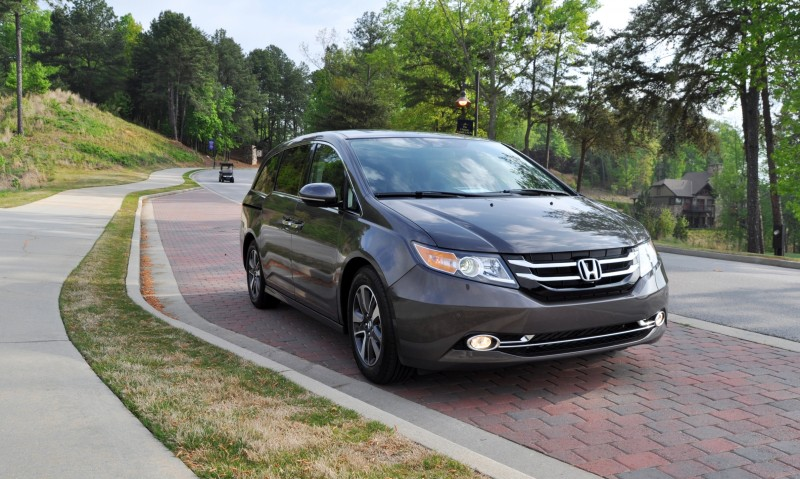 Car-Revs-Daily.com Road Test Review - 2014 Honda Odyssey Touring Elite 1