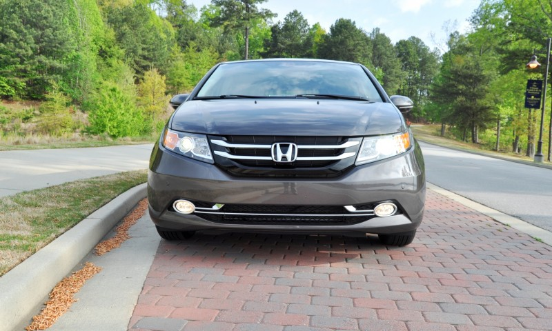 Car-Revs-Daily.com Road Test Review - 2014 Honda Odyssey Touring Elite 16