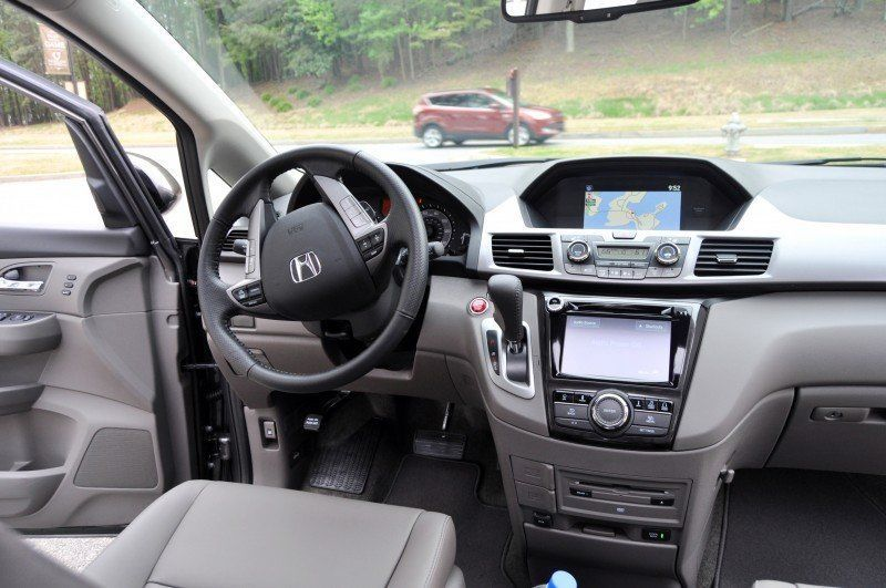 Car-Revs-Daily.com Road Test Review - 2014 Honda Odyssey Touring Elite 36