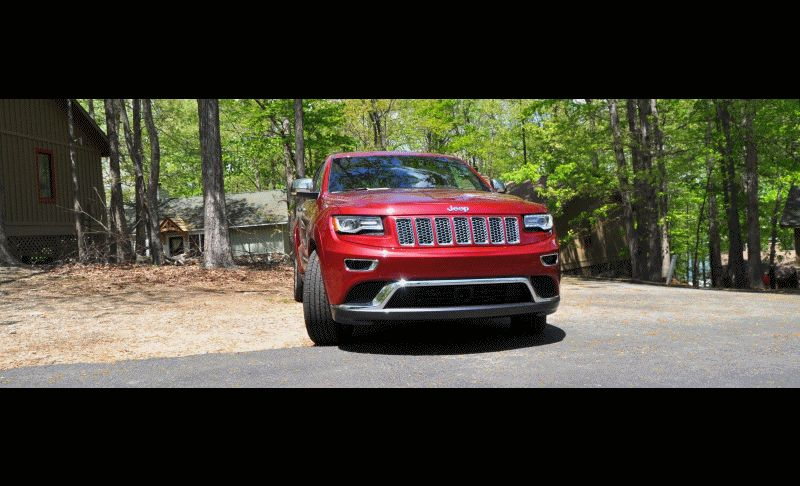 Car-Revs-Daily.com Road Test Review - 2014 Jeep Grand Cherokee Summit V6 GIF1