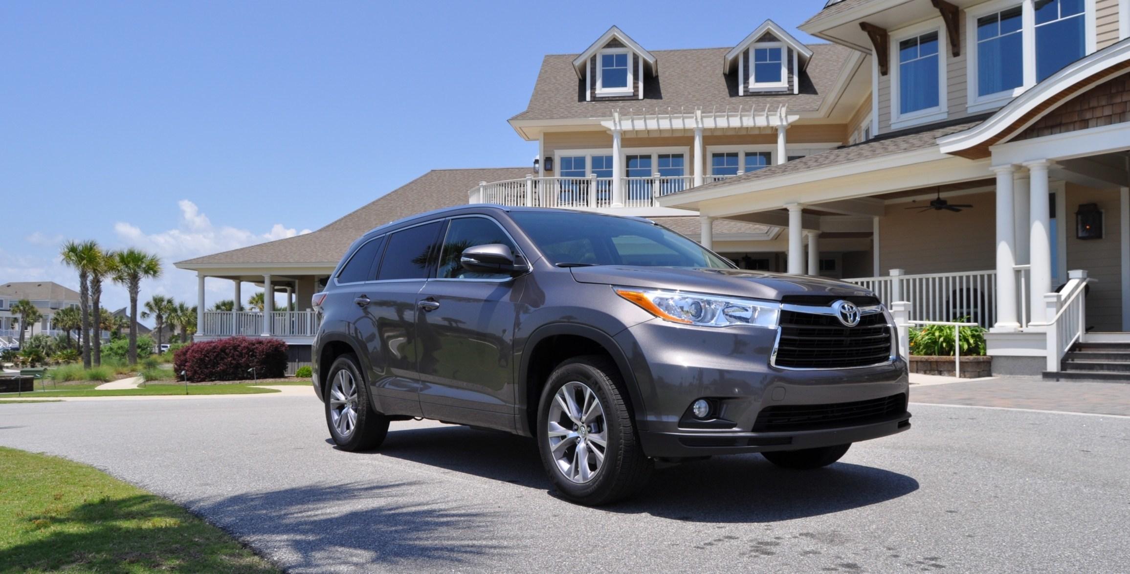 Car-Revs-Daily.com Road Test Review - 2014 Toyota Highlander XLE V6 76