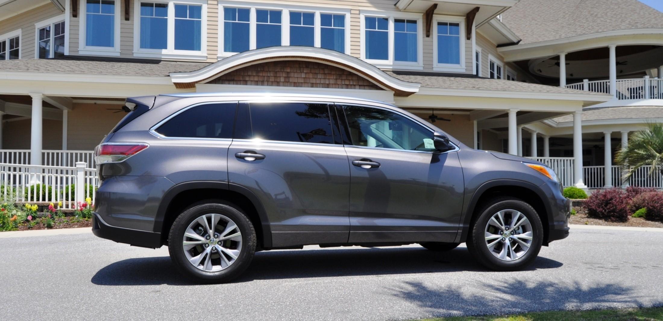 road test review 2015 toyota highlander hybrid limited awd by ken glassman car revs. Black Bedroom Furniture Sets. Home Design Ideas
