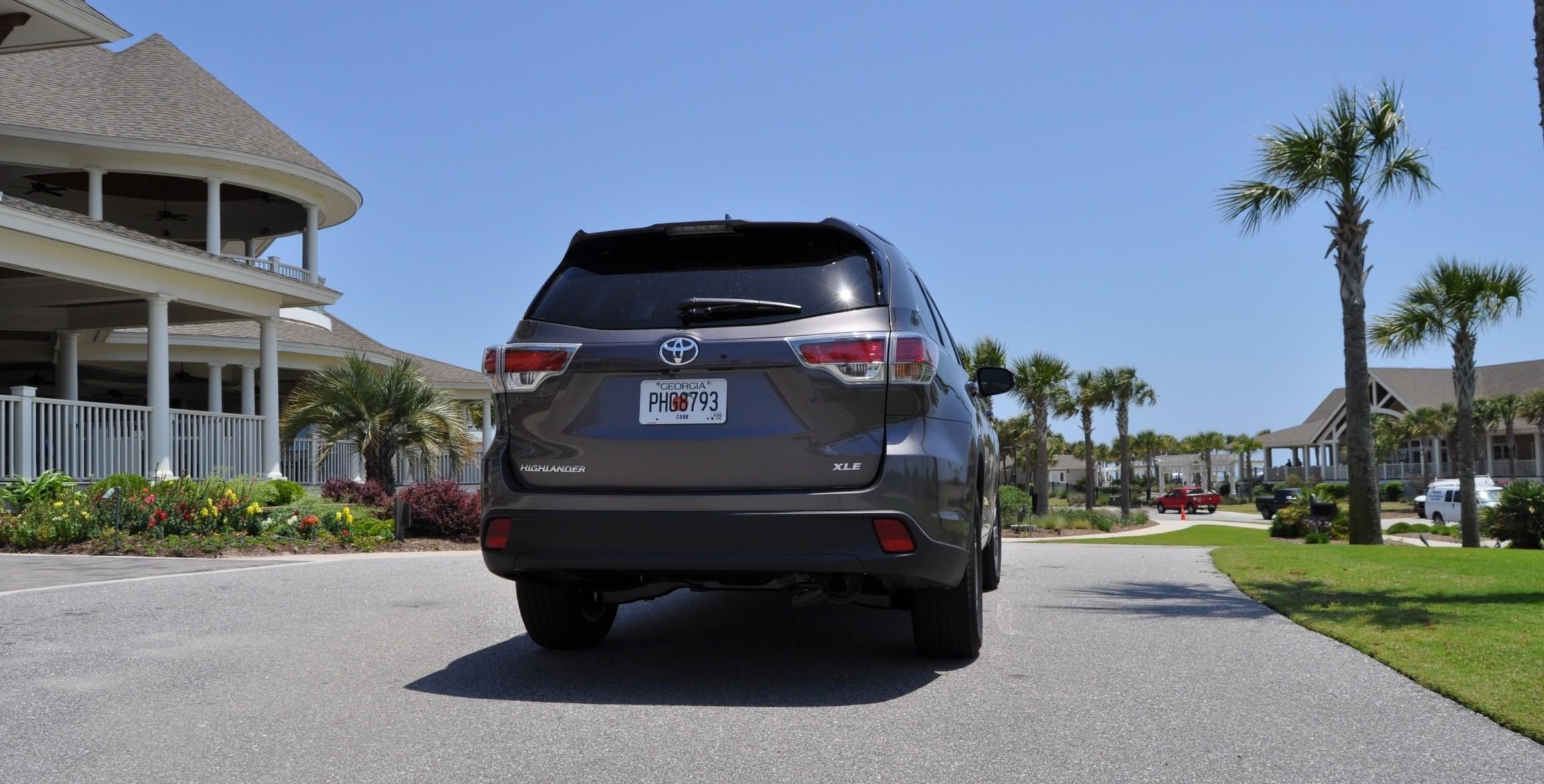 Car-Revs-Daily.com Road Test Review - 2014 Toyota Highlander XLE V6 84