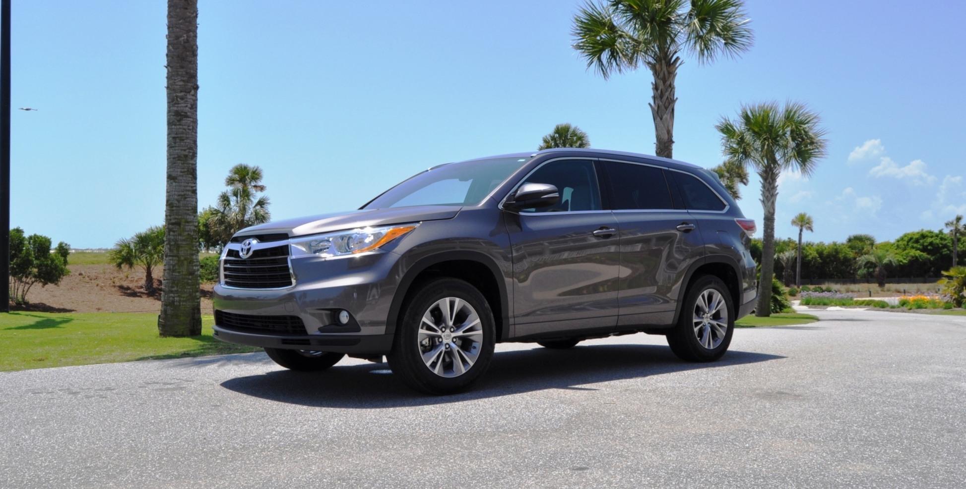 Car-Revs-Daily.com Road Test Review - 2014 Toyota Highlander XLE V6 90