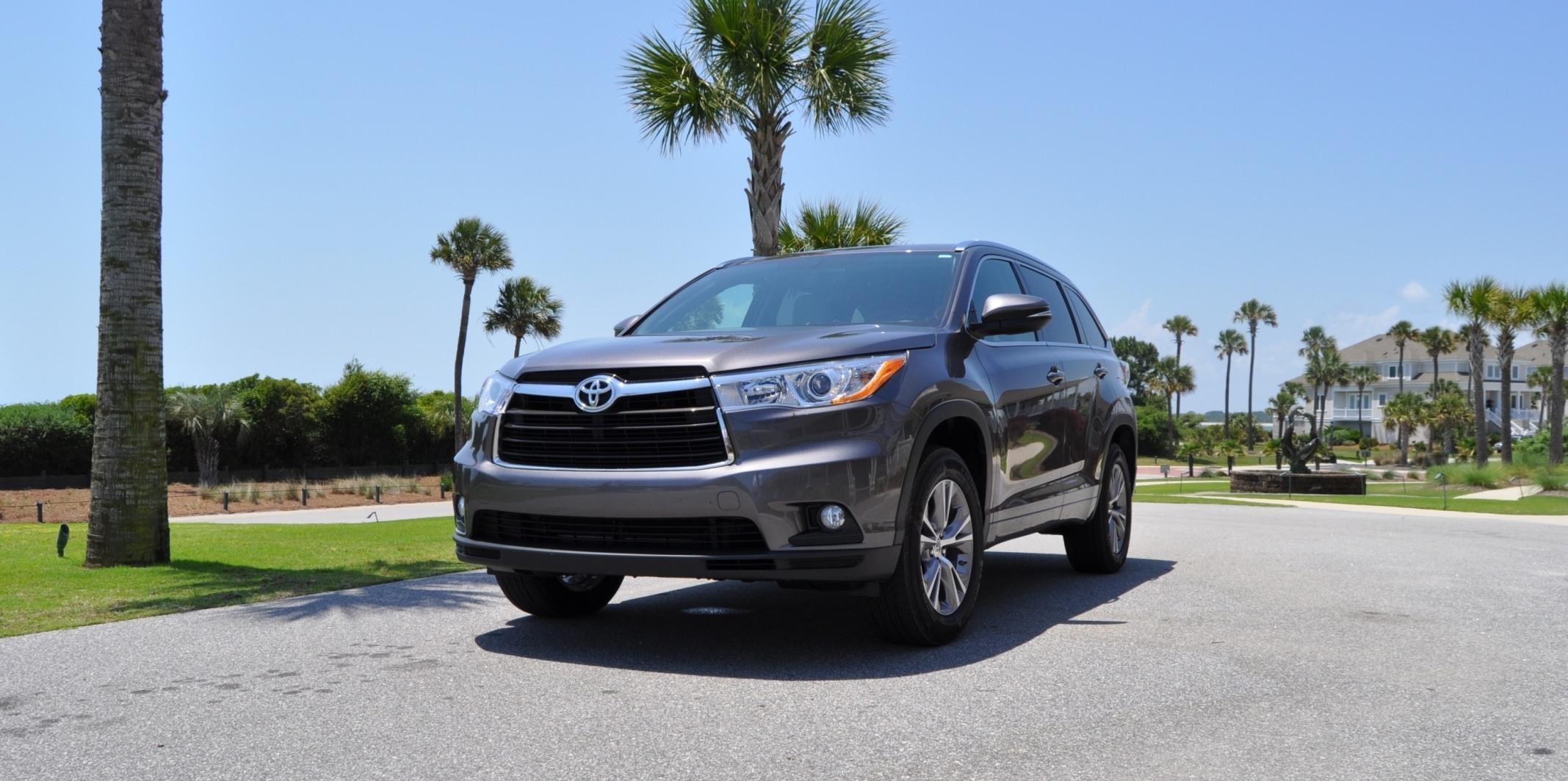 Car-Revs-Daily.com Road Test Review - 2014 Toyota Highlander XLE V6 91