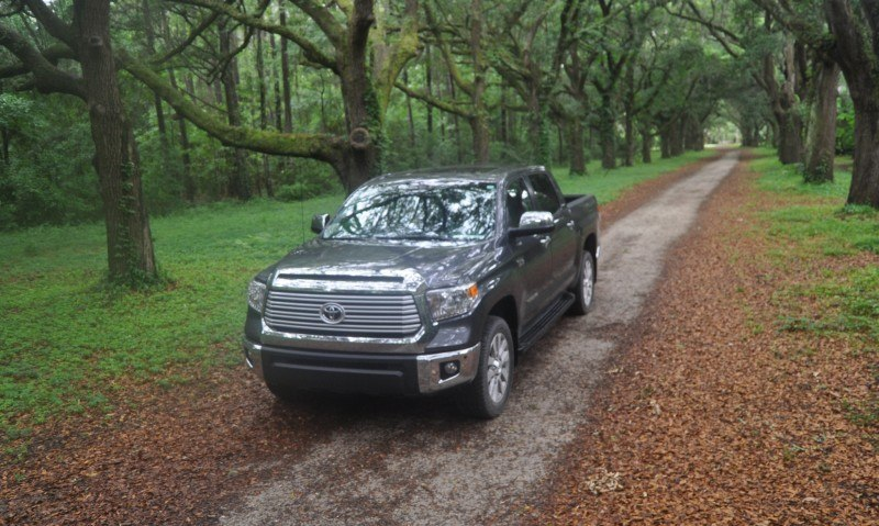 Car-Revs-Daily.com Road Test Review - 2014 Toyota Tundra 5.7L V8 CrewMax Limited 20