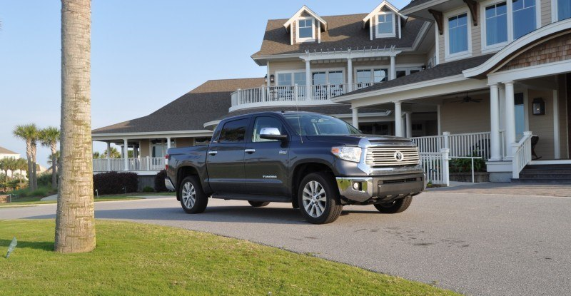 Car-Revs-Daily.com Road Test Review - 2014 Toyota Tundra 5.7L V8 CrewMax Limited 32