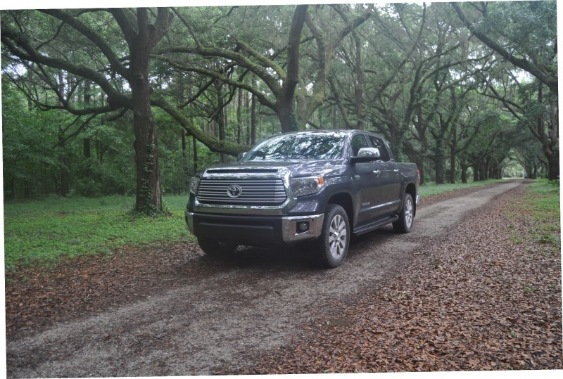 Car-Revs-Daily.com Road Test Review - 2014 Toyota Tundra 5.7L V8 CrewMax Limited 45