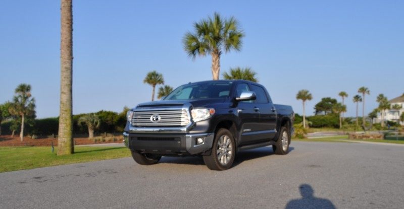 Car-Revs-Daily.com Road Test Review - 2014 Toyota Tundra 5.7L V8 CrewMax Limited 50