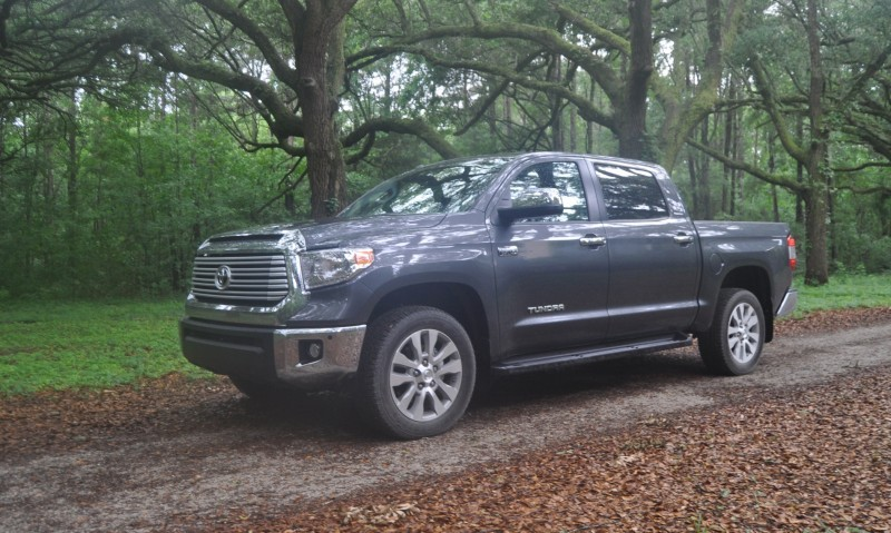 Car-Revs-Daily.com Road Test Review - 2014 Toyota Tundra 5.7L V8 CrewMax Limited 55