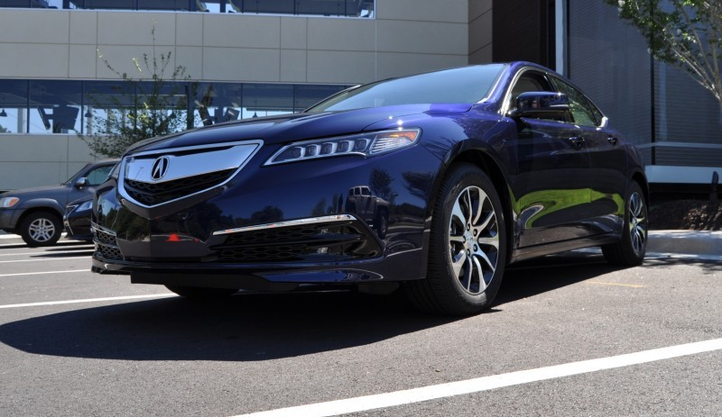 Car-Revs-Daily.com Road Test Review - 2015 Acura TLX 1