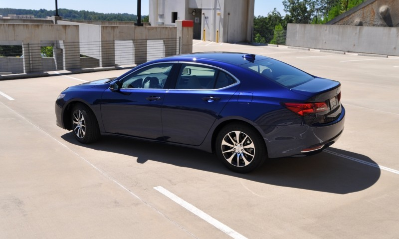 Car-Revs-Daily.com Road Test Review - 2015 Acura TLX 10
