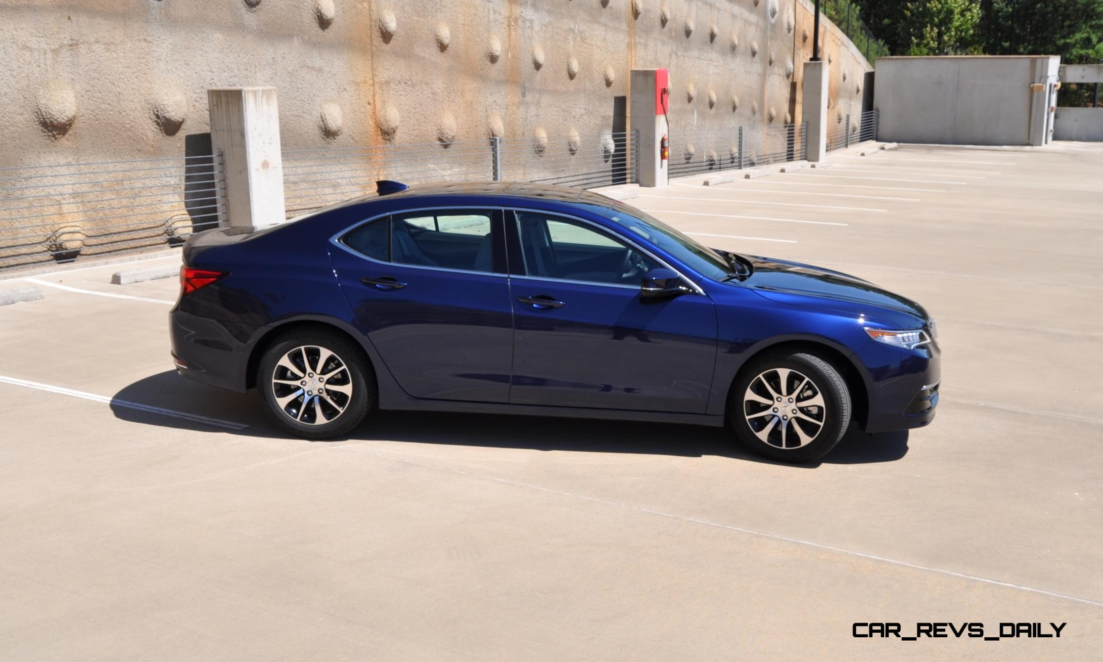 Simple 2015 Acura TLX Review
