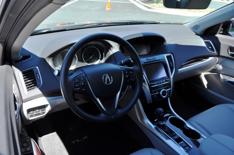 Car-Revs-Daily.com Road Test Review - 2015 Acura TLX 31
