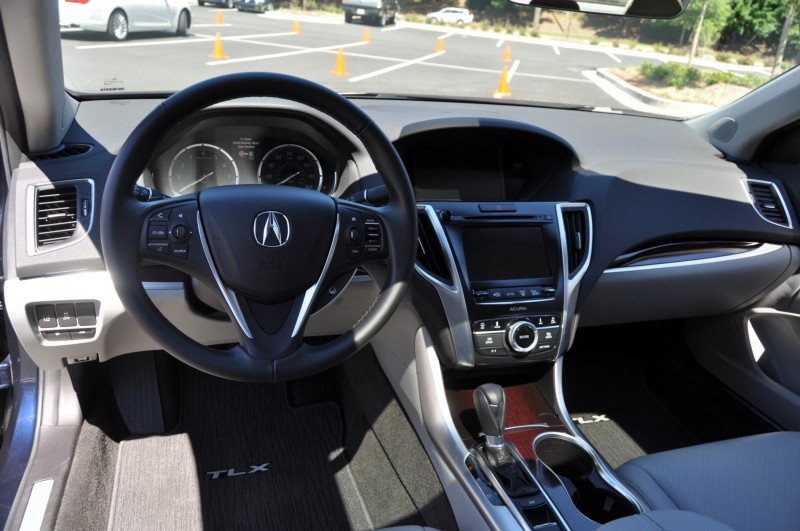 Car-Revs-Daily.com Road Test Review - 2015 Acura TLX 36