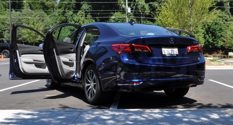 Car-Revs-Daily.com Road Test Review - 2015 Acura TLX 43
