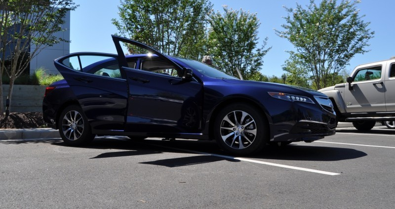 Car-Revs-Daily.com Road Test Review - 2015 Acura TLX 45