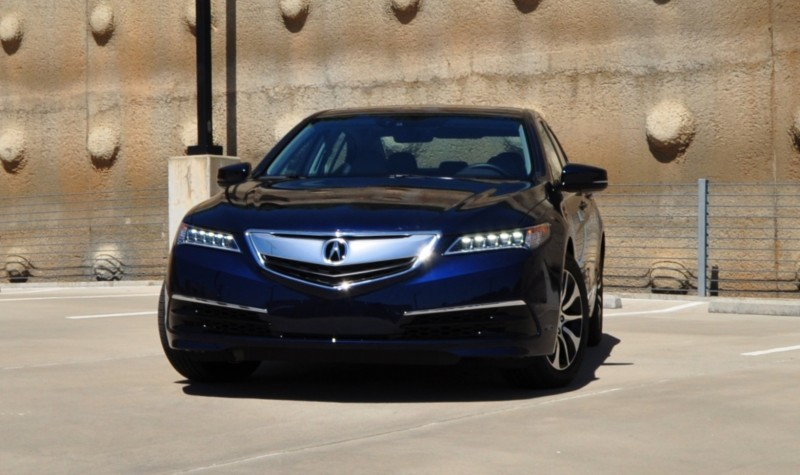 Car-Revs-Daily.com Road Test Review - 2015 Acura TLX 55
