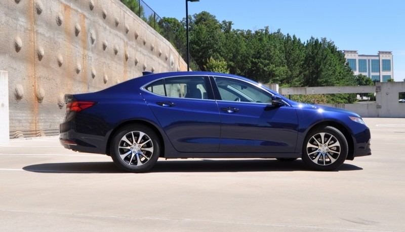 road test review 2015 acura tlx 2 4l is seriously good. Black Bedroom Furniture Sets. Home Design Ideas