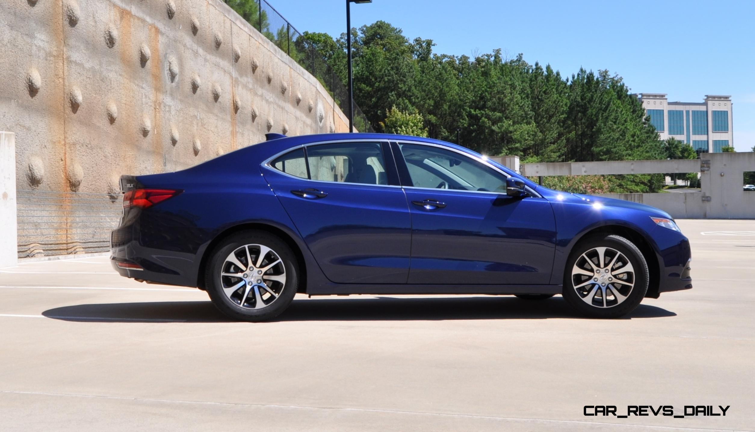 road test review 2015 acura tlx 2 4l is seriously good fun quick lux and nimble. Black Bedroom Furniture Sets. Home Design Ideas