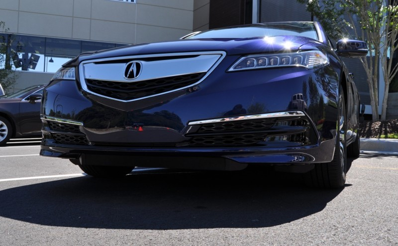 Car-Revs-Daily.com Road Test Review - 2015 Acura TLX 70