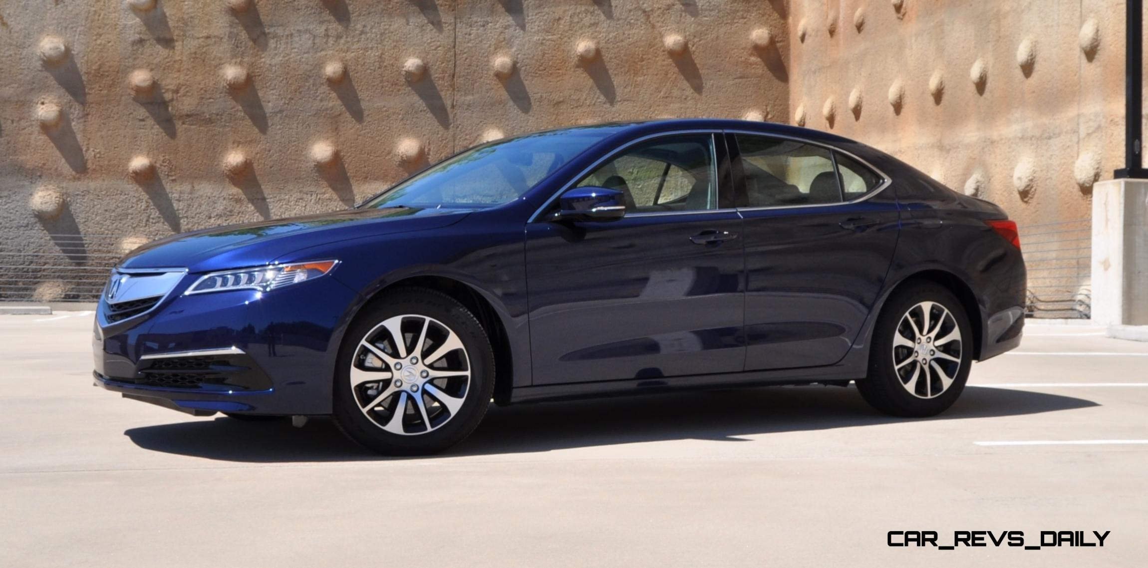 Perfect Road Test Review  2015 Acura TLX 24L Is Seriously Good Fun Quick