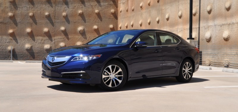 Car-Revs-Daily.com Road Test Review - 2015 Acura TLX 75