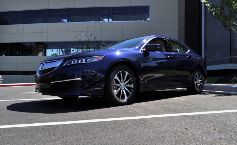 Car-Revs-Daily.com Road Test Review - 2015 Acura TLX 8