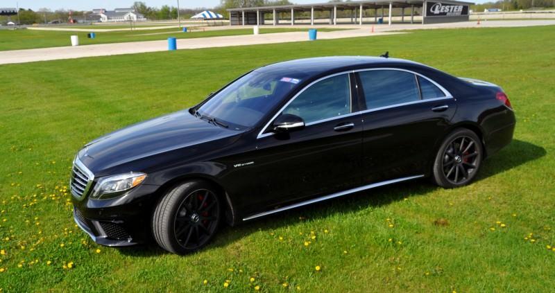 Car-Revs-Daily.com Road Test Reviews the 2015 Mercedes-Benz S63 AMG 102