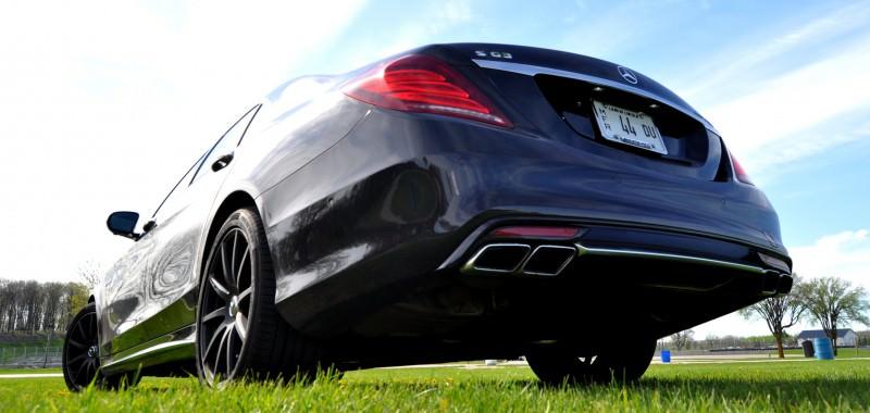 Car-Revs-Daily.com Road Test Reviews the 2015 Mercedes-Benz S63 AMG 103