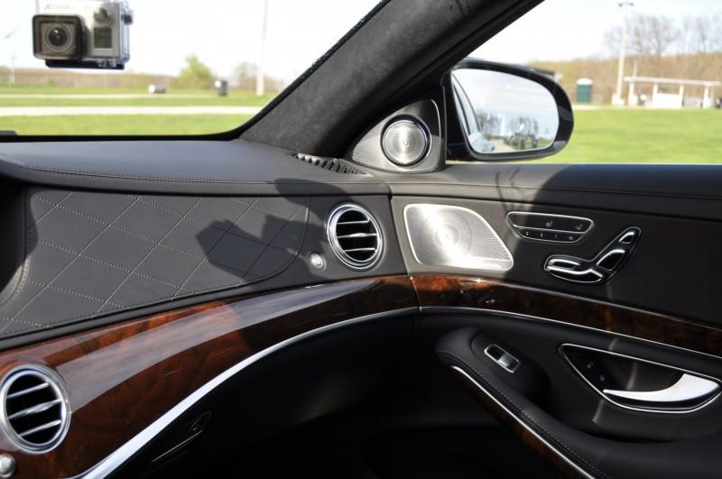 Car-Revs-Daily.com Road Test Reviews the 2015 Mercedes-Benz S63 AMG 12