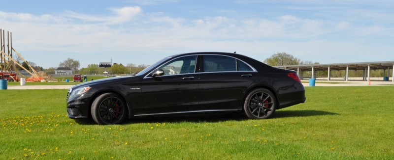 Car-Revs-Daily.com Road Test Reviews the 2015 Mercedes-Benz S63 AMG 75