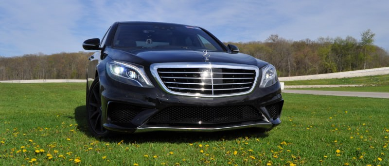 Car-Revs-Daily.com Road Test Reviews the 2015 Mercedes-Benz S63 AMG 90