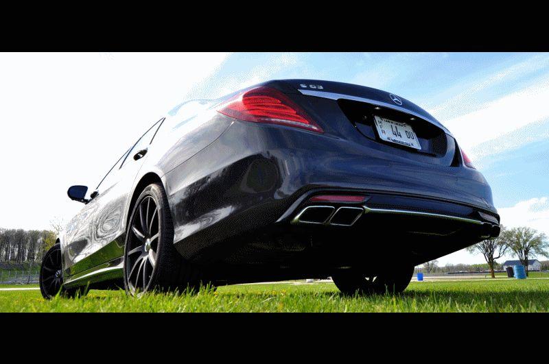 Car-Revs-Daily.com Road Test Reviews the 2015 Mercedes-Benz S63 AMG GIF5